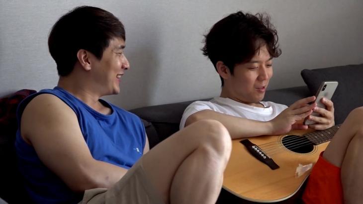 하동균 매니저(왼)-하동균 / MBC '전참시'