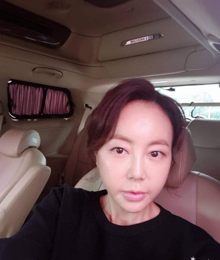 황혜영 SNS