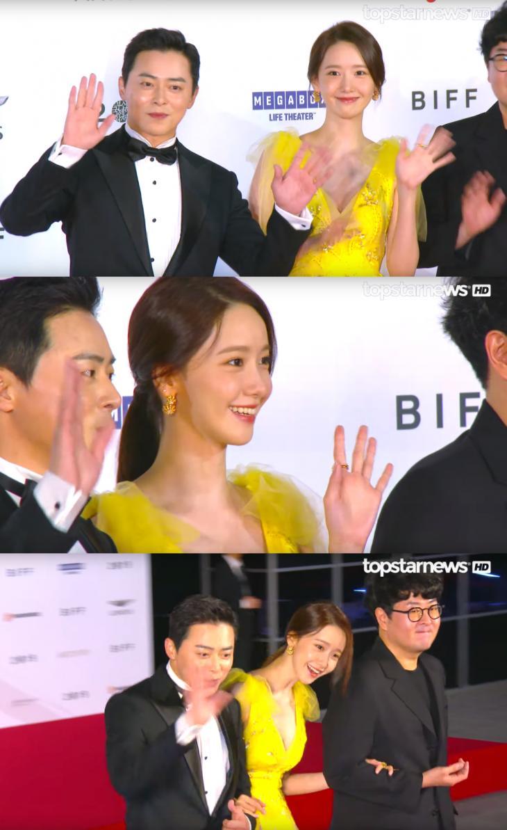 조정석-윤아 / 톱스타뉴스 HD영상 캡처