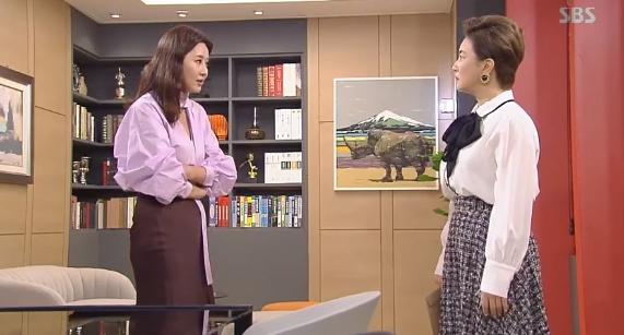 김혜선 오애리 / SBS '수상한 장모' 캡처