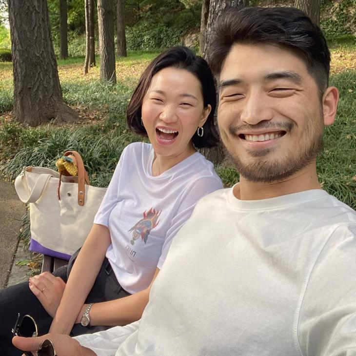 장윤주-남편 정승민 / 장윤주 인스타그램