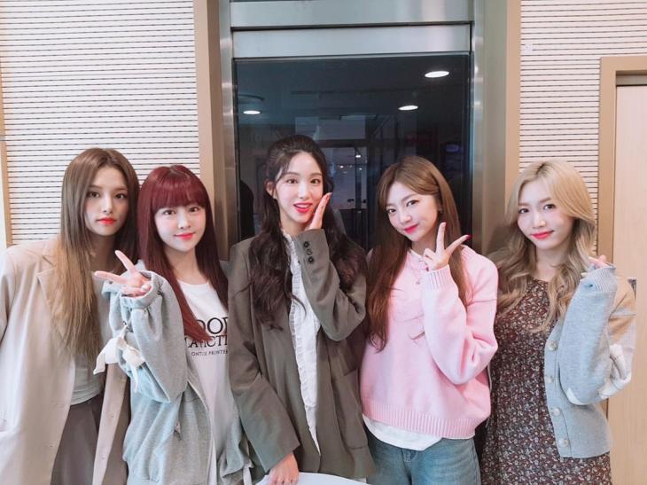 라붐 공식 인스타그램