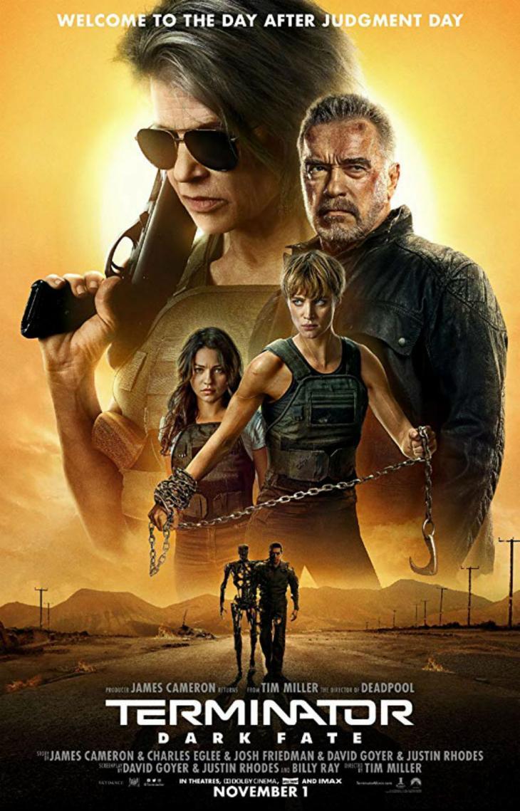 '터미네이터 : 다크 페이트 포스터' / IMDB