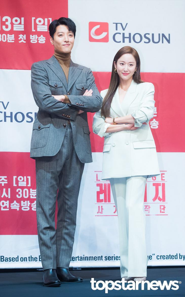 이동건-전혜빈 / 서울, 정송이 기자