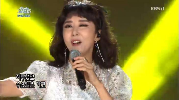 KBS1 '어게인 가요톱텐' 방송 캡처