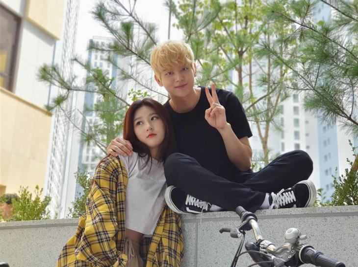 김새론-여회현 / 여회현 인스타그램