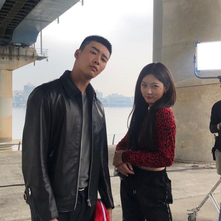 김권-김새론 / 김새론 인스타그램