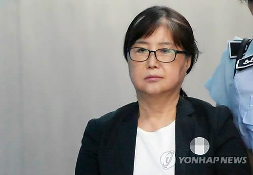 최순실 / 연합뉴스 제공