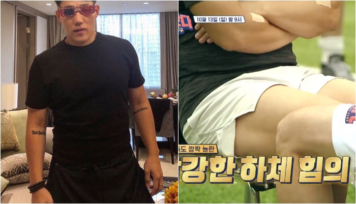 (좌) 모태범 인스타그램 /  (우) JTBC '뭉쳐야찬다' 방송 캡처