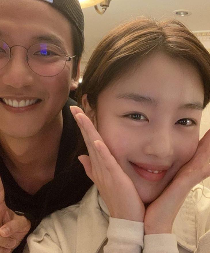 김남길-한선화 / 한선화 인스타그램