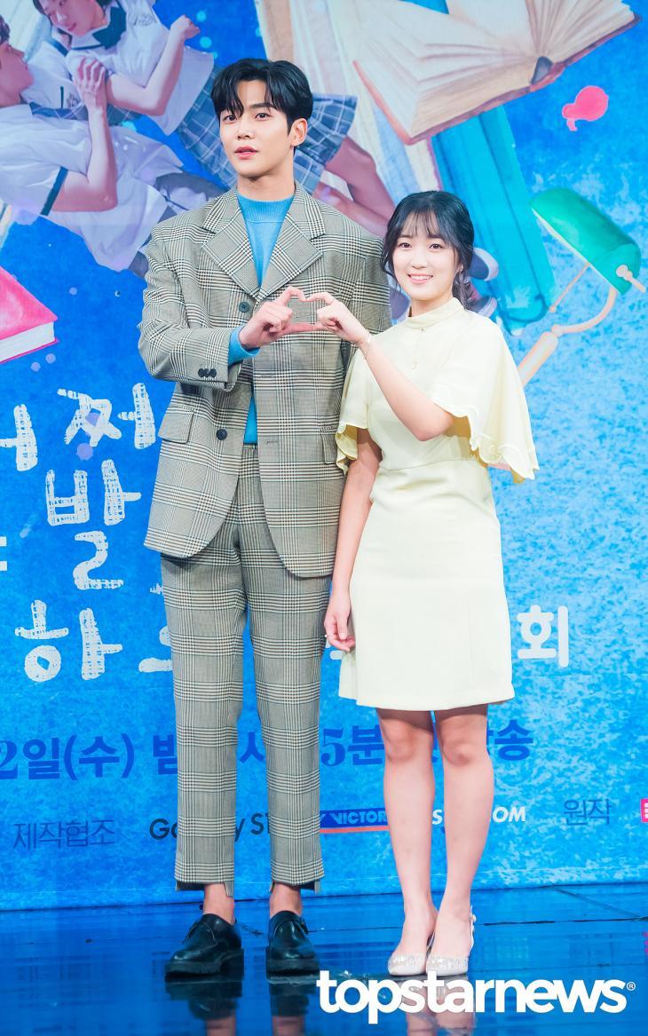 에스에프나인(SF9) 로운-김혜윤 / 서울, 정송이 기자