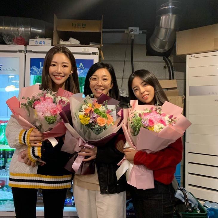 진예주-장영남-민도희 / 민도희 인스타그램