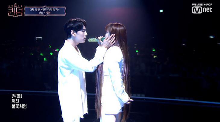 한선천-박봄 /Mnet '퀸덤' 방송 캡처
