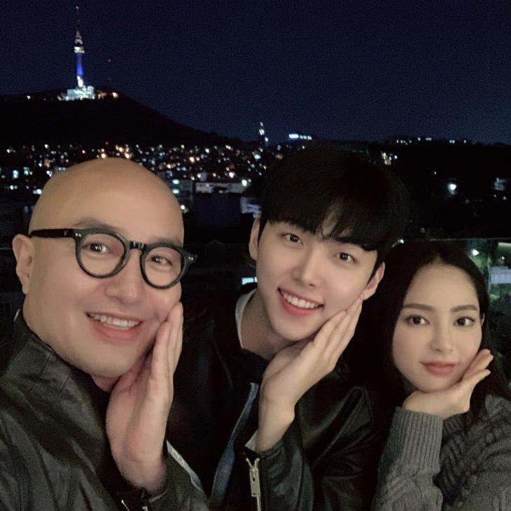 홍석천-박정진-송세라 / 홍석천 인스타그램