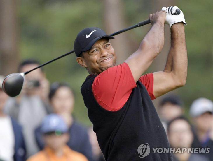 타이거 우즈 / 연합뉴스