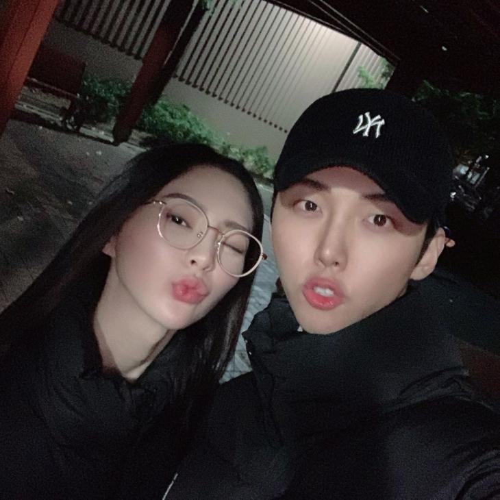 송세라-박정진 / 박정진 인스타그램