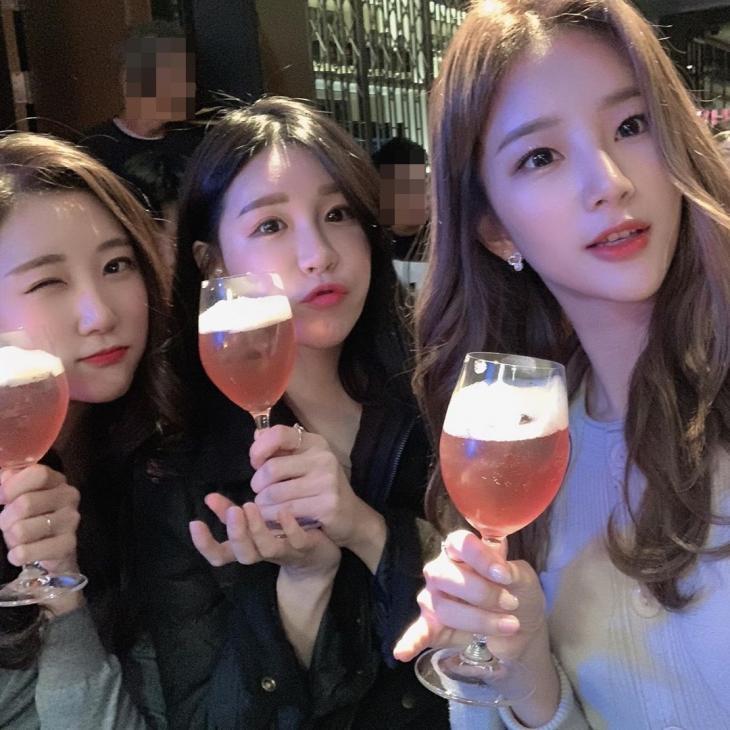 김진아 치어리더 인스타그램