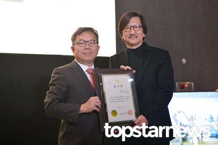 2019 서울도시건축비엔날레 폐막식, 임재용 총감독 / 서울, 최규석 기자