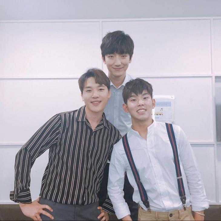 김민석-정동환-폴킴 / 폴킴 인스타그램