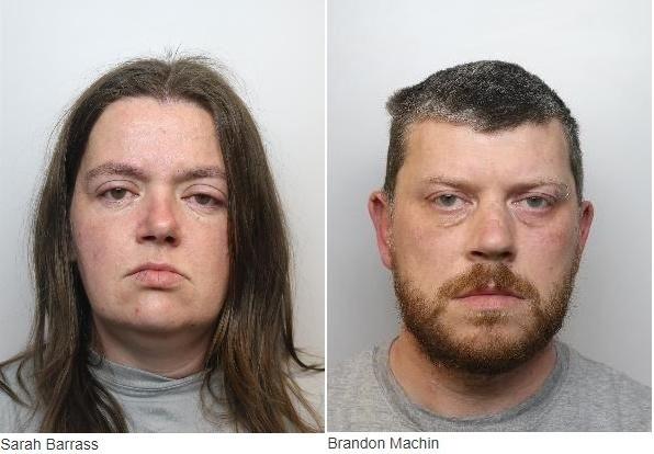 12일(현지시간) BBC, 가디언 등은 근친상간으로 낳은 6명의 아이 중 2명을 목졸라 살해한 혐의로 이부남매 세라 버러스(35)와 브랜던 매친(39)이 종신형을 선고받았다고 보도했다. (출처=영국 사우스요크셔 경찰 홈페이지) 2019.11.13. / 뉴시스