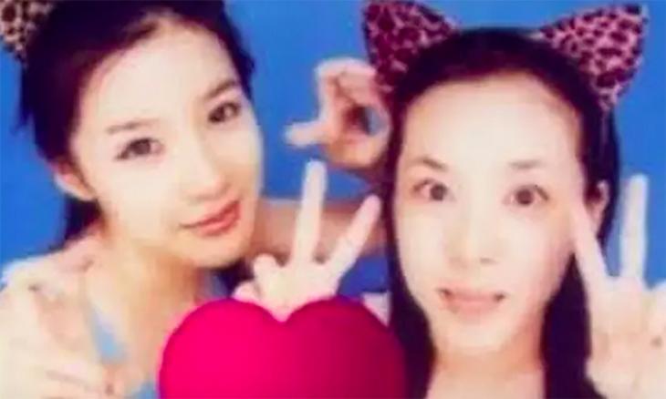 박봄-산다라박 스티커사진 / 온라인 커뮤니티