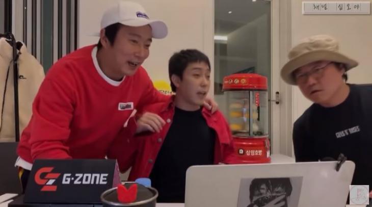 이수근-은지원-나영석 / 유튜브 채널 십오야