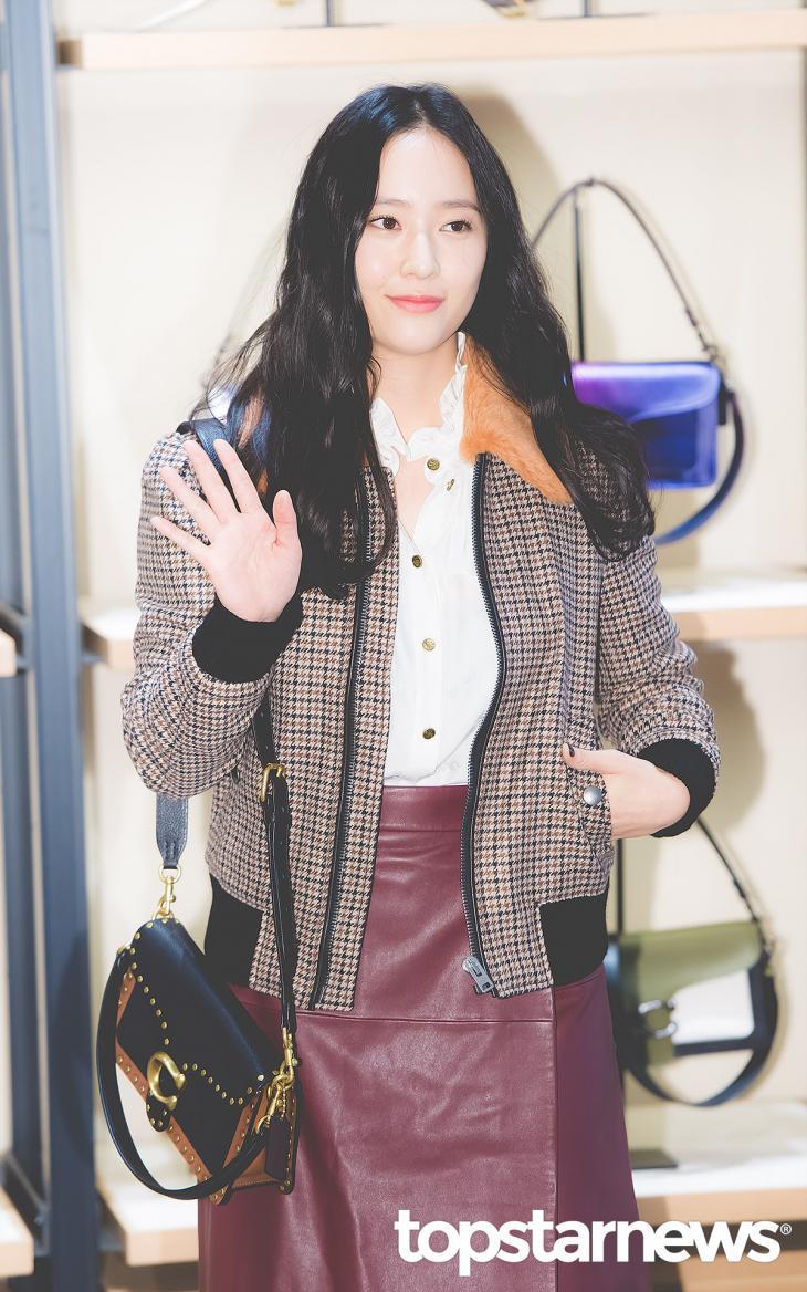 에프엑스(f(x)) 크리스탈 / 서울, 최규석 기자