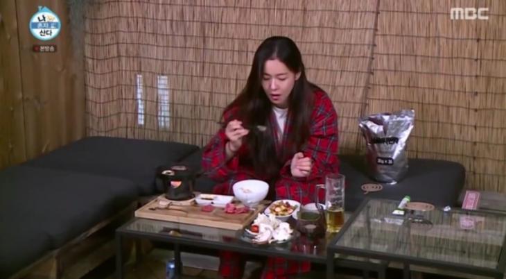 경수진 미니화로 / MBC '나 혼자 산다' 방송 캡처