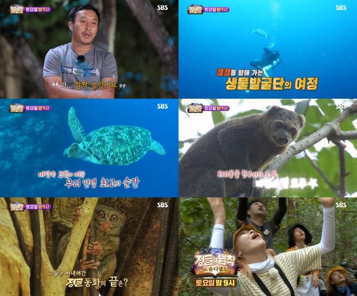 SBS '정글의 법칙' 예고 캡처