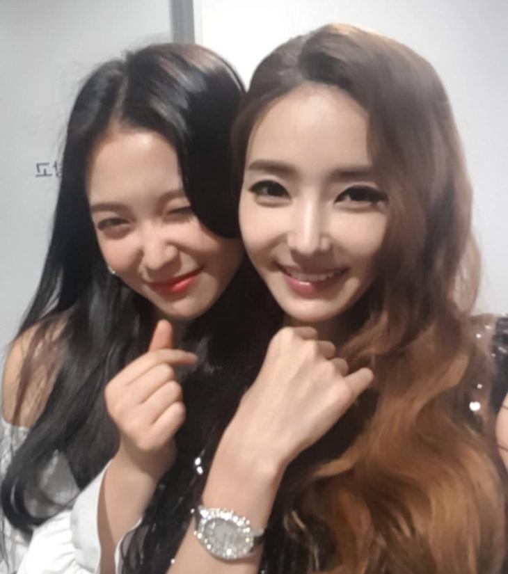 예리-한채영 / 한채영 인스타그램