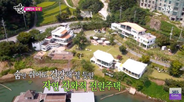 심혜진 대저택 집공개 / SBS