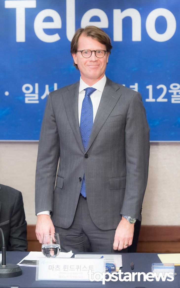 마츠 륀드퀴스트(Mats Lundquist) CEO / 서울, 최규석 기자