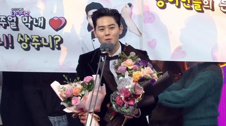 SBS '2019 SBS 연예대상' 방송 캡쳐