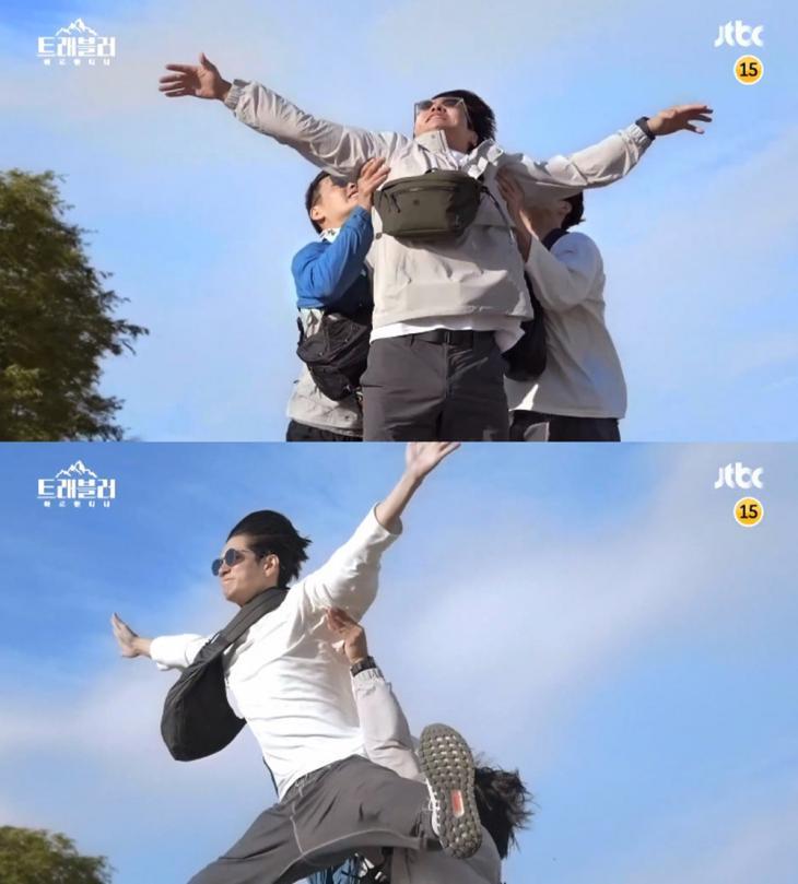 JTBC '트래블러' 예고 영상 캡처