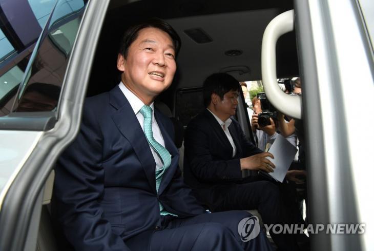 '정계 복귀' 안철수 / 연합뉴스