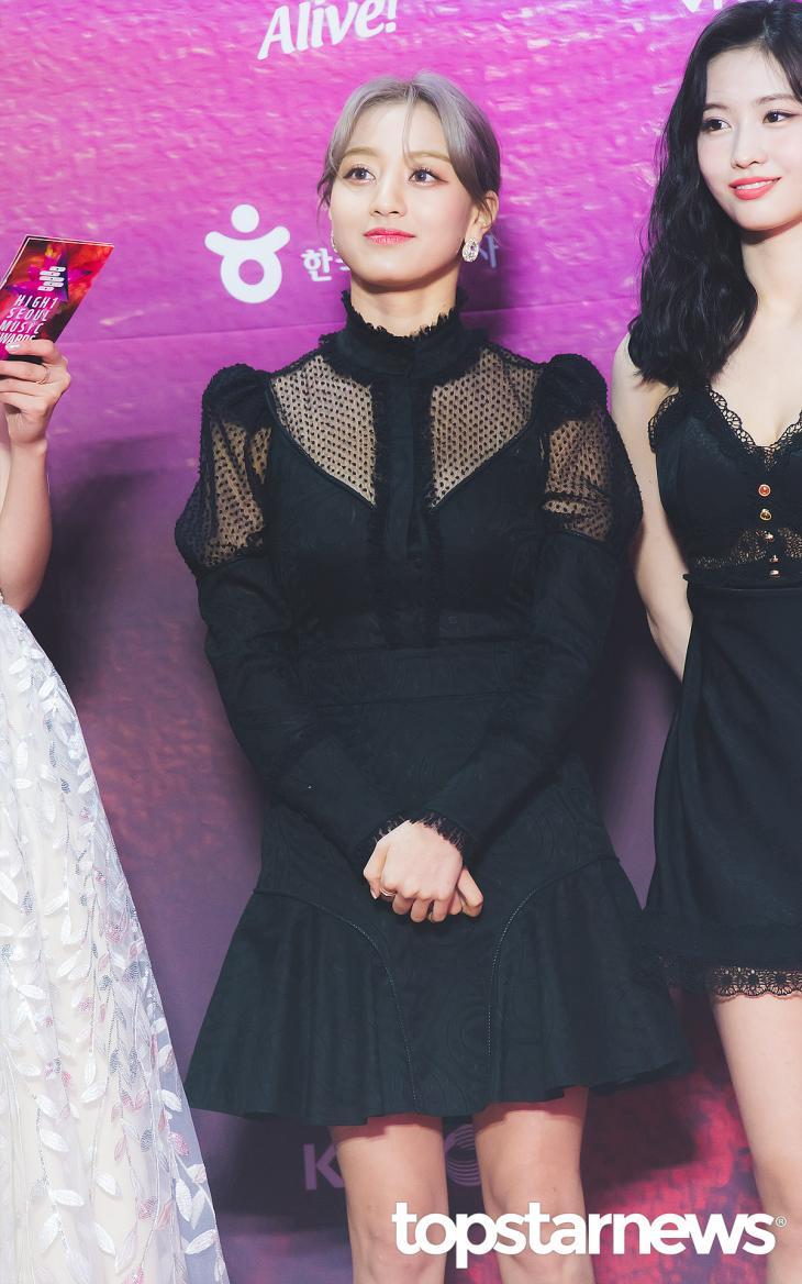 트와이스(TWICE) 지효 / 서울, 최규석 기자