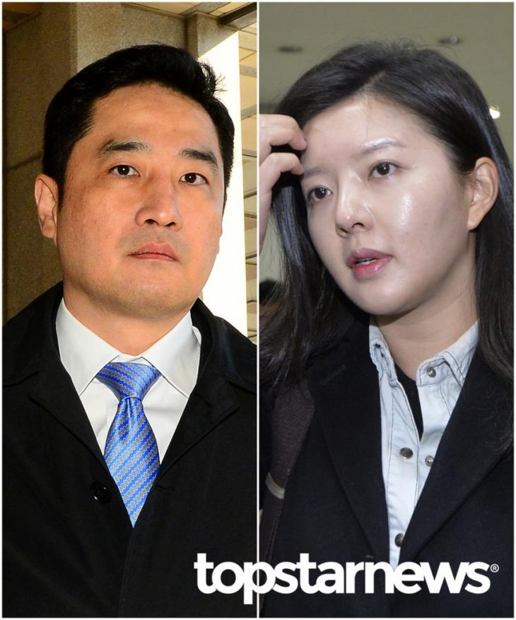 강용석 변호사-'도도맘' 김미나 씨 / 뉴시스 제공