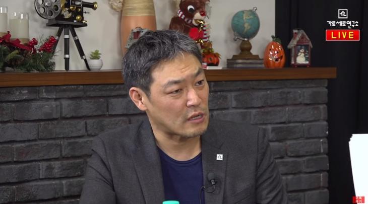 김용호 전 기자 / 유튜브 채널 '가로세로연구소(가세연)' 화면 캡처