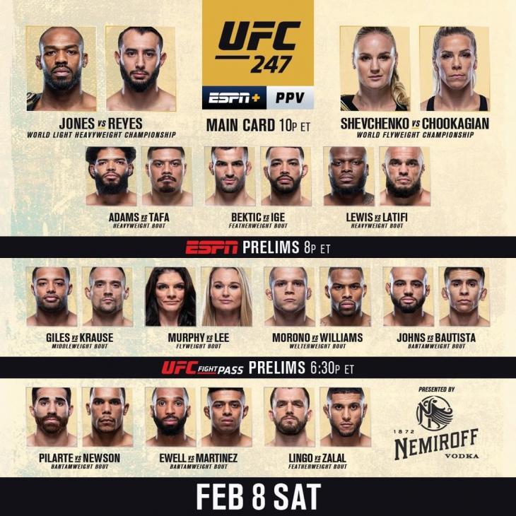 UFC 공식 인스타그램
