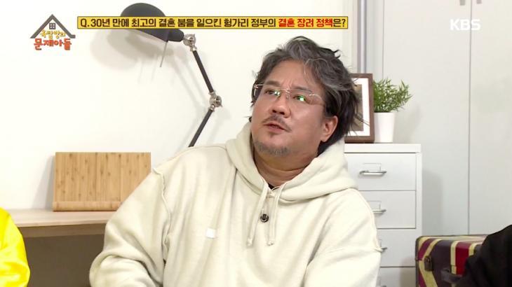 이무송 / KBS2 '옥탑방의 문제아들' 방송캡처