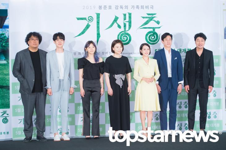 봉준호감독-영화 '기생충' 출연진 / 톱스타뉴스 HD포토뱅크