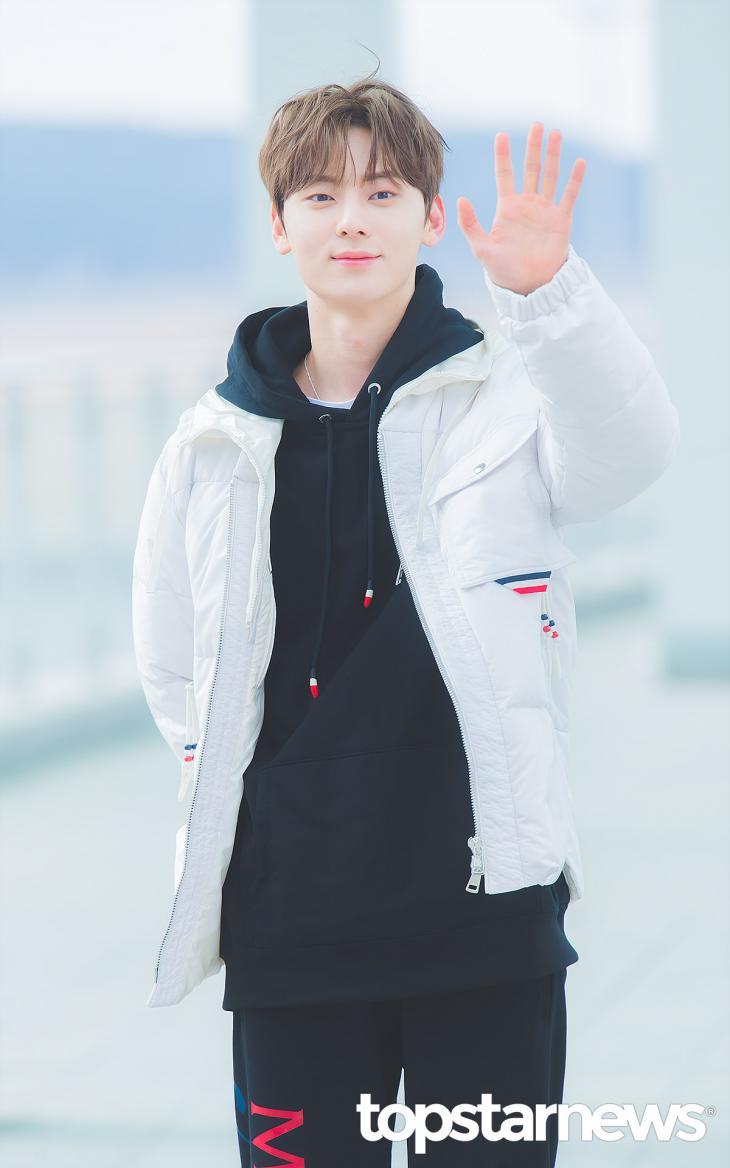 뉴이스트(NU'EST) 황민현 / 인천, 최규석 기자