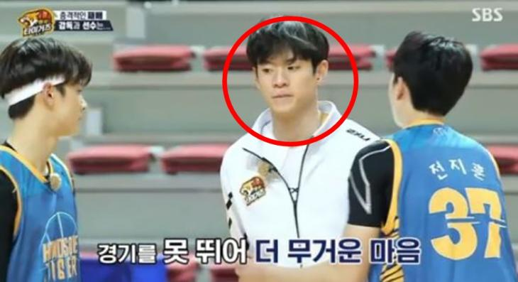 문수인 발목 부상 / SBS '핸섬타이거즈' 방송캡처