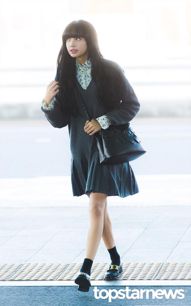 블랙핑크(BLACKPINK) 리사 / 인천, 최규석 기자