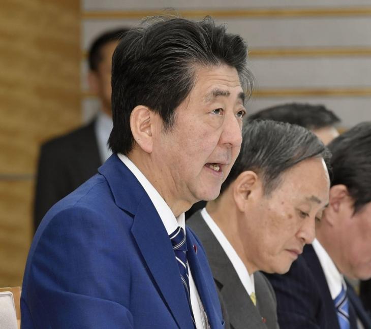아베 총리 / 연합뉴스