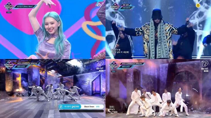 Mnet '엠카운트다운'방송캡처
