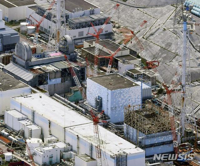 일본 후쿠시마현 오쿠마에 있는 후쿠시마 원전의 2017년 9월 4일월 모습. 2019.12. 29 / 뉴시스