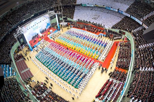 신천지예수교 증거장막성전(신천지)의 집회 장면 / 신천지 홈페이지
