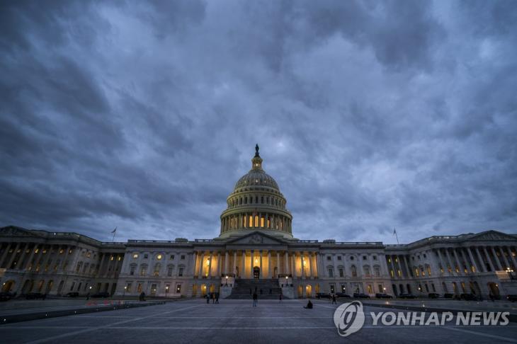 미 의회 의사당 전경 [EPA=연합뉴스] / 연합뉴스