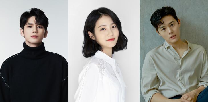 옹성우-신예은-김동준 / 판타지오, 엔피오엔터테인먼트, 메이저나인 제공